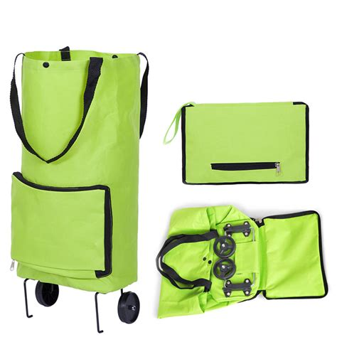 Foldable Bag Shopping foldable shopping bag on wheels