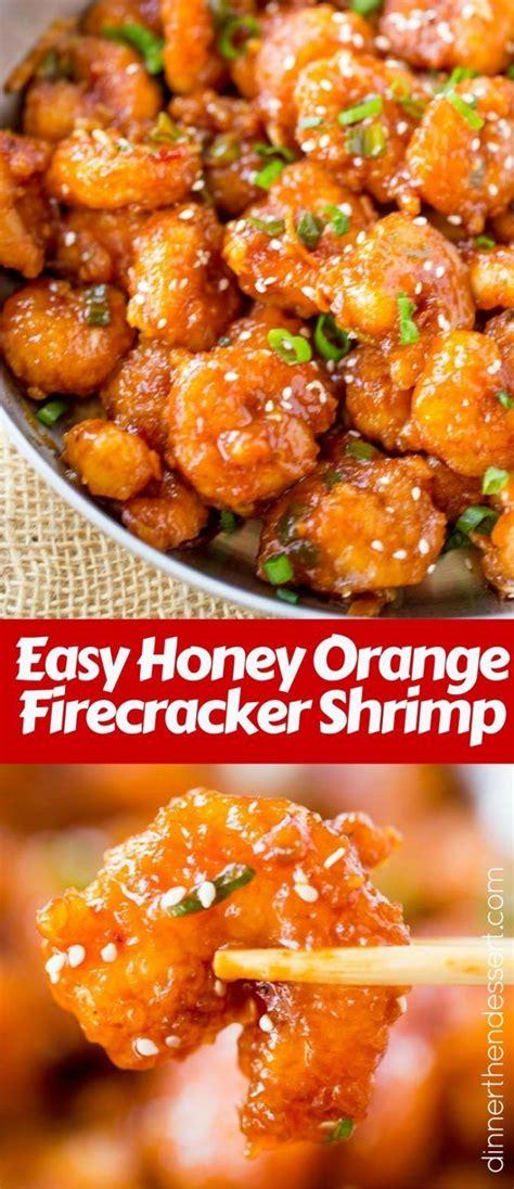 honey orange firecracker shrimp recipe firecracker shrimp