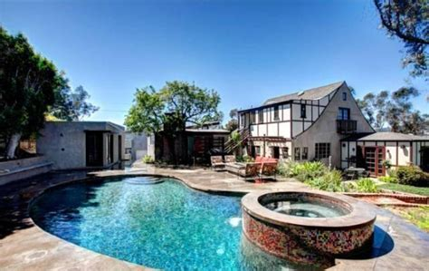 music houses los angeles a two fer deal classic tudor and ain designed pool house realtor com 174
