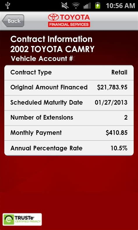 my toyota financial my options toyota financial services autos post