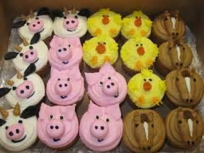 farm animal cupcakes flickr photo sharing