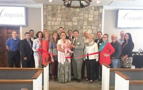 companion funeral home celebrates athens ribbon cutting