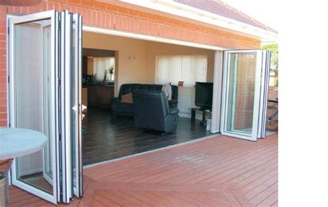 Folding Glass Doors Exterior Cost Best Accordion Glass Doors Patio And Best Folding Patio Doors Door Styles Image 11 Of 13