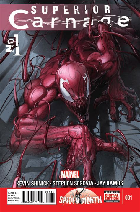 american carnage tales of trumpian dystopia books superior carnage vol 1 1 marvel database fandom