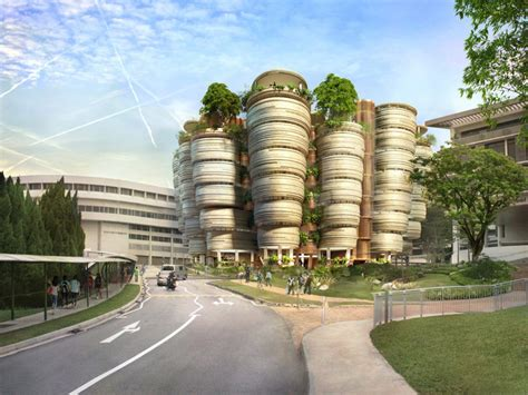 bridge design competition ntu thomas heatherwick learning hub