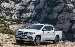 mercedes x class ute unveiled 190kw v6 flagship