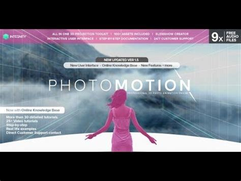 professional after effects templates photomotion professional 3d photo animator after effects