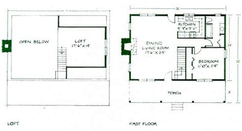 simple house plans with loft simple small house floor plans small cabin floor plans