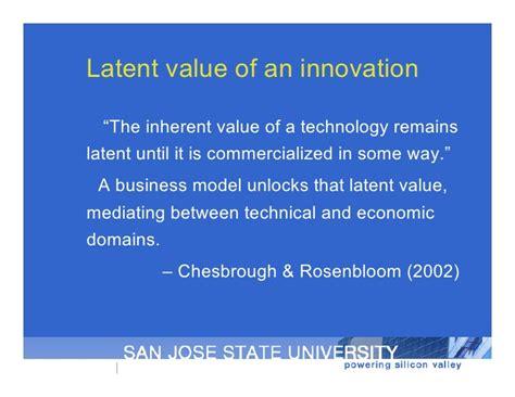 Economic Development Mba Sjsu by Distributed Perspectives On Innovation Uc Berkeley Aug 2010