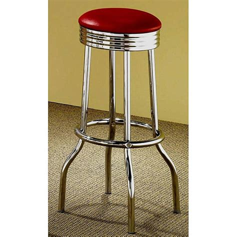 How To Clean Chrome Bar Stools by Retro Chrome Bar Stools Set Of 2 Furniture Seat