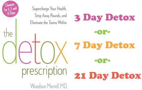Woodson Merrell 3 Day Detox by Detox Prescription Toxins Are Negatively Affecting Your