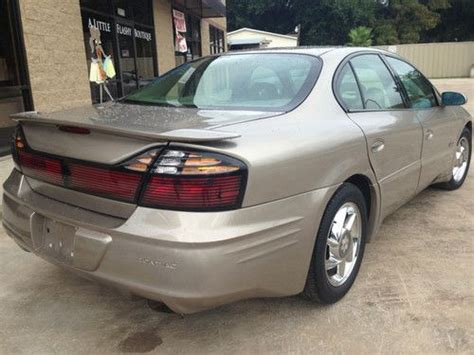 2000 Pontiac Bonneville Ssei Supercharged Find Used 2000 Pontiac Bonneville Ssei Sedan 4 Door 3 8l