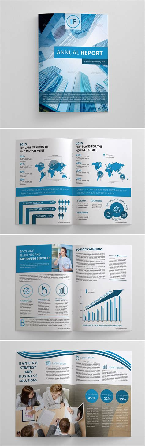 tekst layout reportage a showcase of annual report brochure designs to check out
