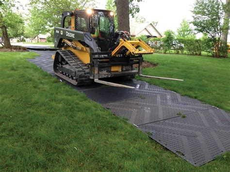 Mud Mats For Heavy Equipment by Temporary Roads Construction Landscaping Access Mats