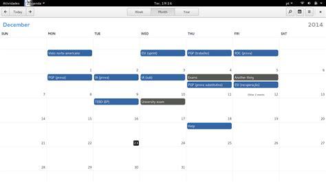 When Calendar Linux Gnome Calendar Linux Softpedia Linux