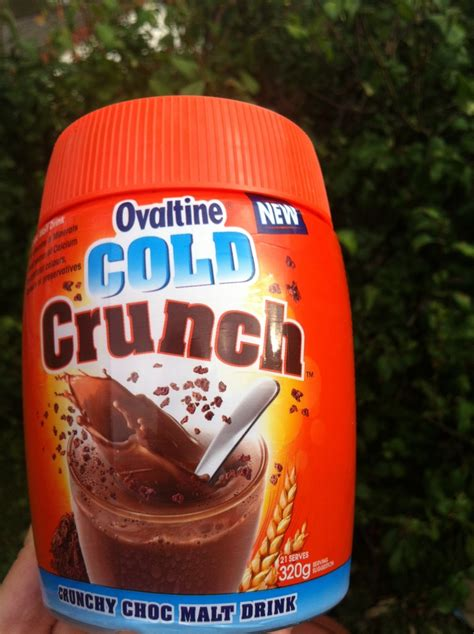 Ovaltine Crunchy Choco ovaltine gold crunch review review clue