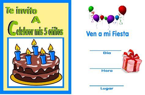 para imprimir de invitacion a fiestas de cumpleanos infantiles view a mi manera invitaciones para fiesta de cumplea 241 os
