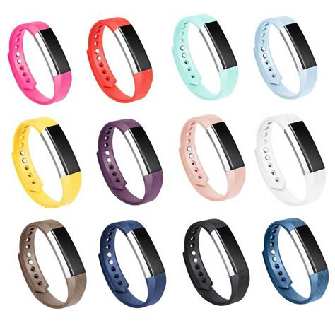 alta colors 12pcs colors replacement bands with clasps for