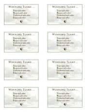 avery business card template 8373 winning teams