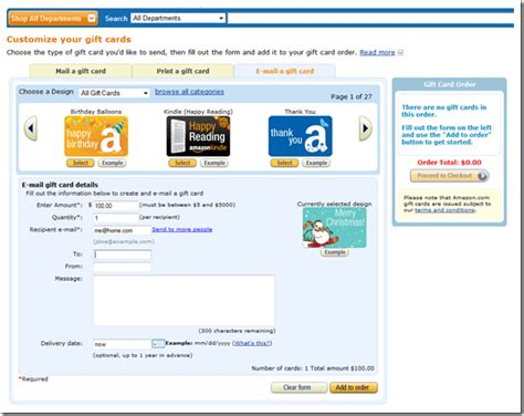 Where Can I Use Amazon Gift Card - can you use an amazon gift card to pay for kindle unlimited bar mitzvah gift card