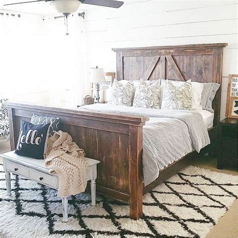 farmhouse style bedroom furniture 60 rustic farmhouse style master bedroom ideas 22