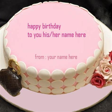 pink birthday cakes  girl  editor