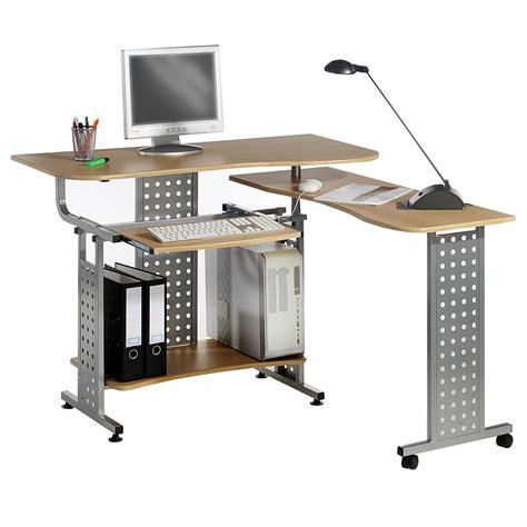 pc schreibtisch pc schreibtisch computertisch mit tastaturauszug home
