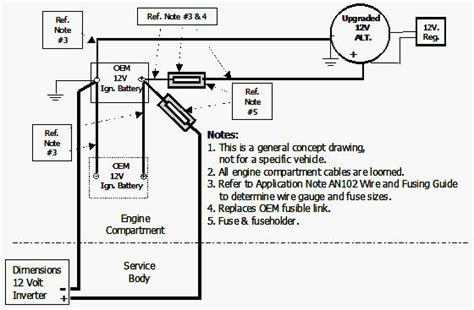 wiring diagram for inverter to alternator readingrat net