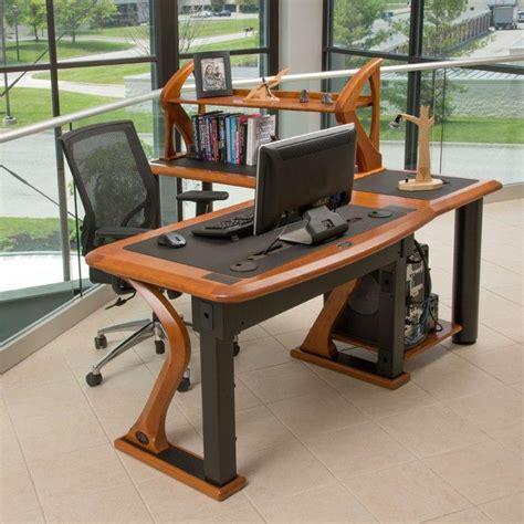 Building A Standing Cherry Wood Desk Caretta Workspace Standing Desk Wood