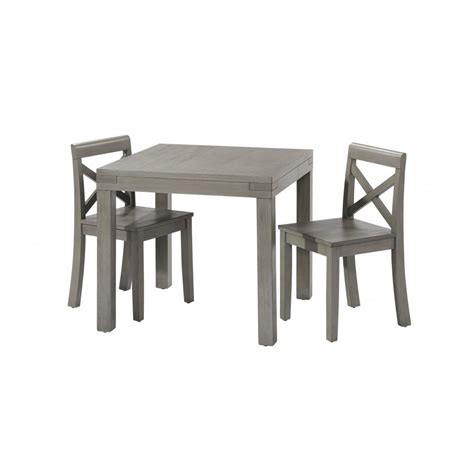 table and chair for 2 year 2 chair set rustic gray oxford baby kids