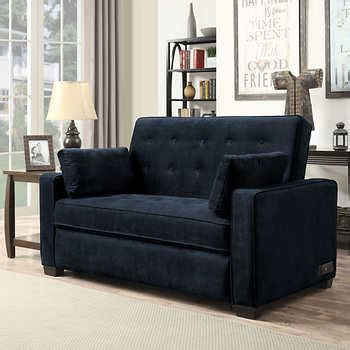 westport fabric sleeper sofa westport fabric sleeper sofa navy blue
