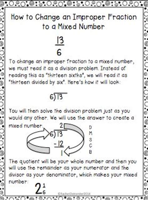 Might Want To Change Number by Teaching Improper Fractions 4th Grade Mrs Mcdonald S 4th
