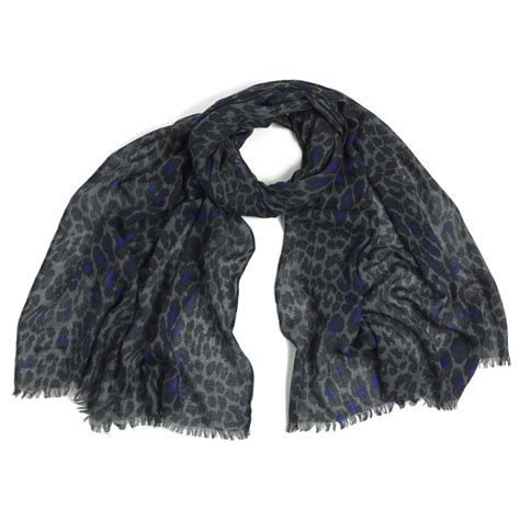 New Furla Mercy mercy delta safari signature scarf midnight
