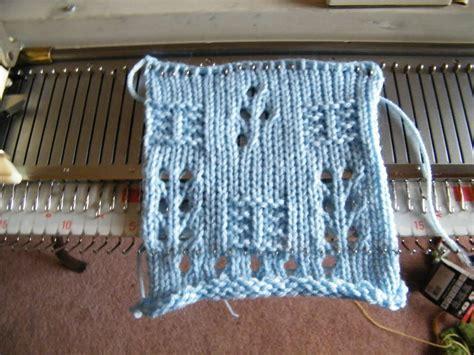 knitting macine patchwork machine knit design