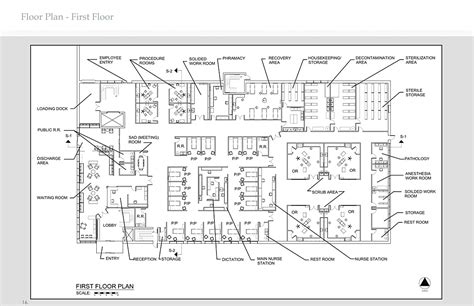 Ambulatory Surgery Center Floor Plans | heathcare design concetta mazzeo archinect