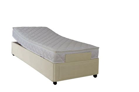 ft electric adjustable bed memory foam mattress