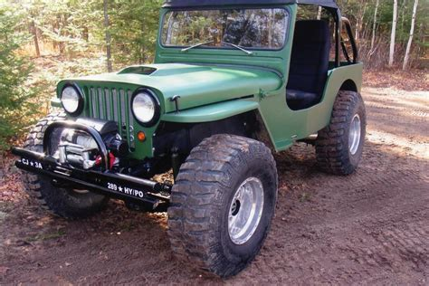 custom willys jeep 1947 willys cj2a custom jeep 181069