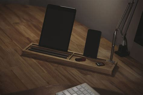 Modern Desk Tidy by Deskpal One Wood Desk Tidy Mikeshouts