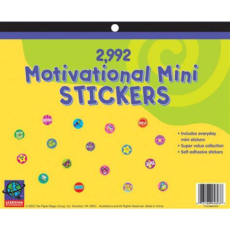 2 992 count mini motivational jumbo sticker book eureka school