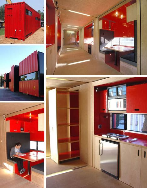 40 foot cargo containers into stylish small home spaces