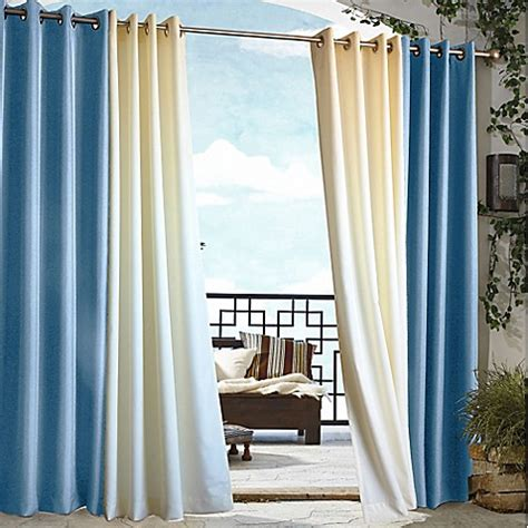 outdoor curtains clearance commonwealth home fashions gazebo outdoor curtain bed