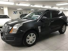 Cadillac Srx 2015 2015 Cadillac Srx Fwd Mississauga Ontario Used Car For