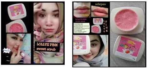 Lollys Pink Scrub rangkaian produk bvr bvr collagen 30gm maison