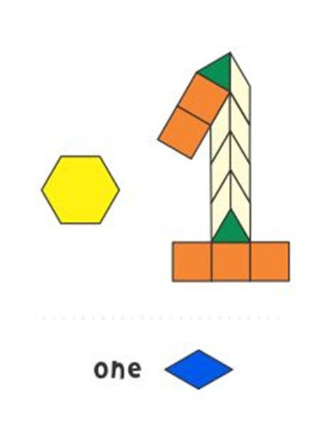 numbers with pattern blocks jessica s numbers pattern block templates number 2
