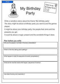 My Birthday Essay by Studyladder Literacy Mathematics Activity Worksheets And Lesson