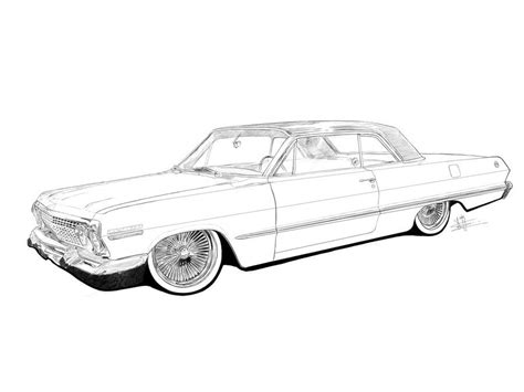 coloring pages of lowrider cars lowrider coloring pages google search cars to draw