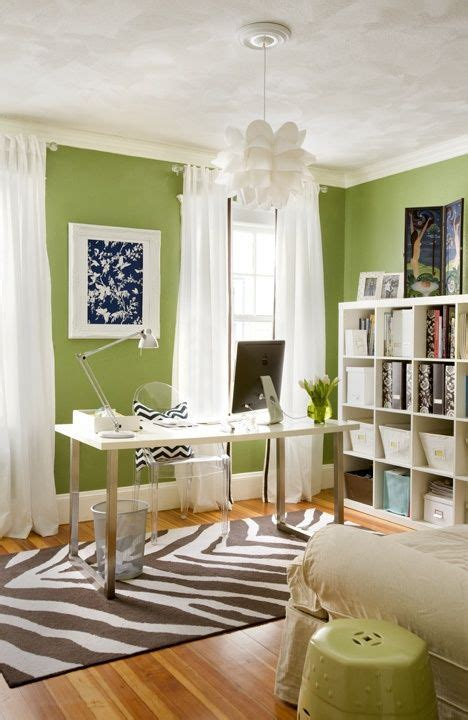 home interior accents best 25 green home offices ideas on pinterest green