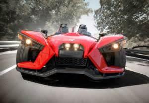 new 3 wheel car polaris slingshot three wheeler unveiled w