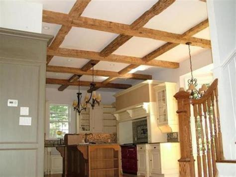 Rustic Ceiling Beams by Hollow Rustic Timber Wood Decorative Design Bookmark 7143