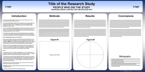 academic poster template powerpoint free powerpoint scientific research poster templates for